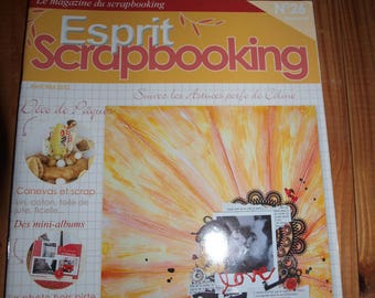 mini albums and Easter scrapbooking magazine