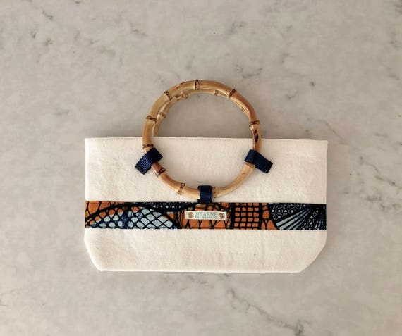 Lwala Clutch - orange collection