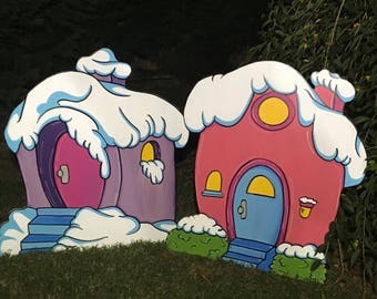 Whoville house Yard art