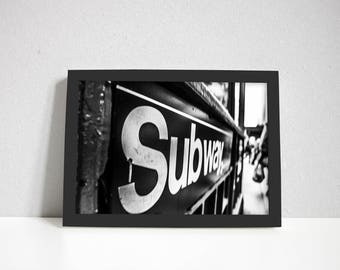 Wall Art, Subway signage, Wall Art Printable, Canvas Art, Room Decor,