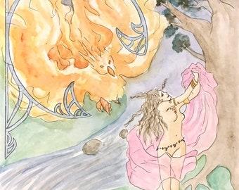 Angelica - fantasy illustration style