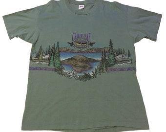 Vintage Crater Lake Oregon T-Shirt