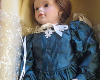 VICTORIA           Beautiful porcelain doll by Elke Hutchins.