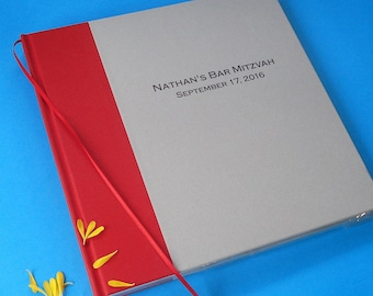 Bar / Bat Mitzvah Scrapbook · Photobooth Guest Book · Bar / Bat Mitzvah Guest Book Photo Booth · Keepsake Album · Photo Booth Guest Book