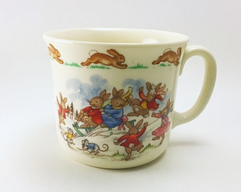 Royal Doulton Bunnykins Snow Day Child's Mug
