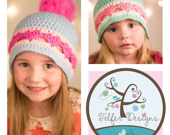 Little sweetheart hat crochet pattern