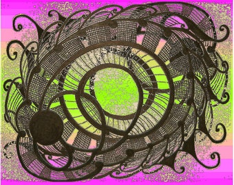 Abstract Art Digital Download: Inner Coil