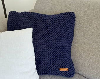 Tough and robust knitten cushion cover