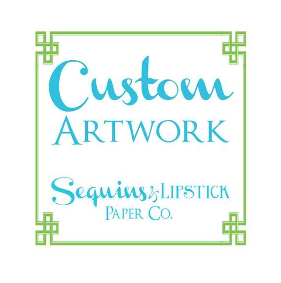 Custom Artwork Fee, .ai .eps .pdf