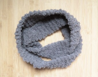 Infinity scarf for baby - Ultrasoft child infinity scarf - Furry neck warmer