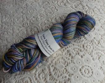 Hand Dyed Yarn Merino Cashere Nylon DK Fairy Garden