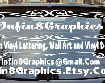 Custom Window Decal Etsy - Custom car window decals stickers