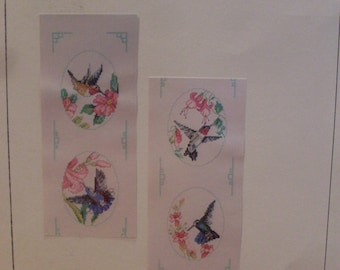 Hummingbirds Counted Cross Stitch Leaflet