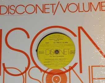 Disconet Volume 1 Number 1 Various Artists DJ Tom Savarese Vinyl Disco Record Album