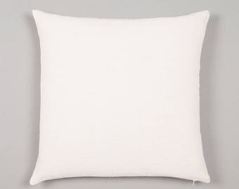 100% Cotton Cushion Covers - Blank - White