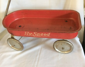 Antique Hy-speed Toy pull wagon
