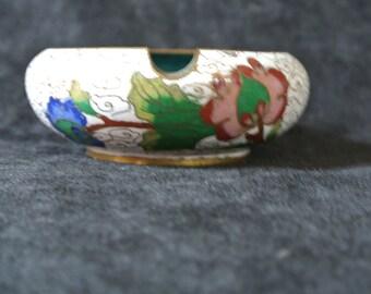 Vintage Japanese cloisonne ash tray.