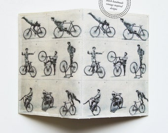 Passport Cover - Cycling tricks vintage