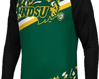 Spectrum Sublimation Men's North Dakota State University Brilliant Long Sleeve