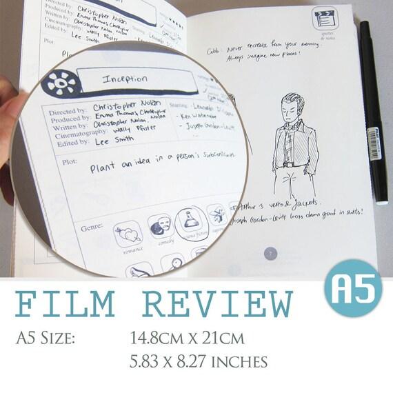 A Size Film Review Digital Template Movie Critique