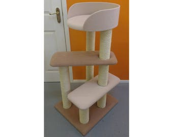 Luxury Cat Tree with Large Cat Bed | Cat Furniture by ScratchyCats UK