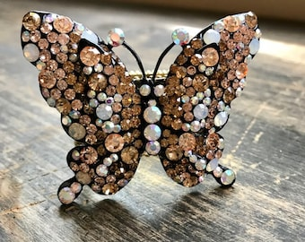 Napkin Ring with Butterfly