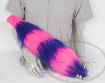 Fluffy Cheshire Cat Tail - Cosplay, Accessories, Costume
