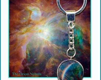Orion Nebula keyring