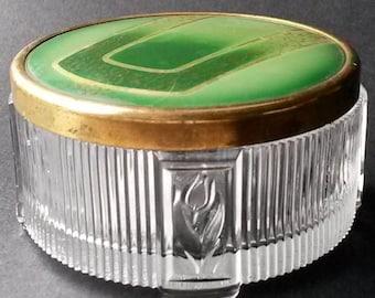 Vintage Vanity dresser lidded jar