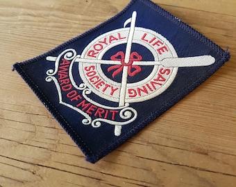 Royal Life Saving Society Award of Merit Patch - Toronto