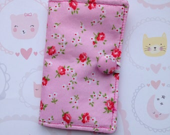 Credit card wallet, credit card holder, business gift, women's card holder, loyalty card holder, business card wallet, floral gift