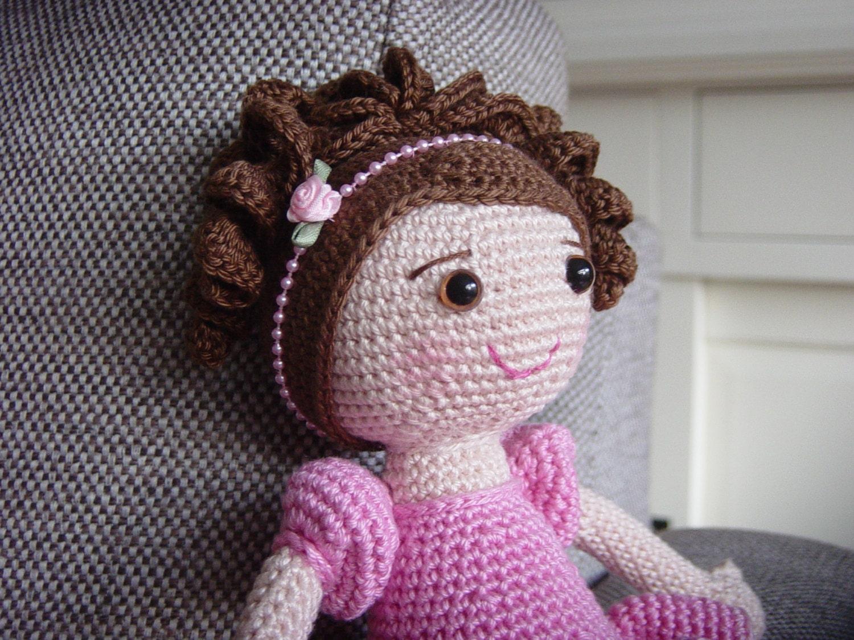 Ballerina Crochet Pattern from DutchDollDesign on Etsy Studio