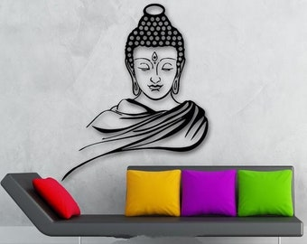 3D Buddha wall paper for your home decor