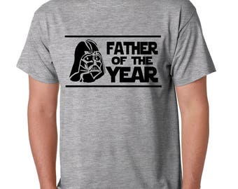 0c67dde7 Star Father of the Year Shirt Funny Darth Vader I am your Father #1 Dad