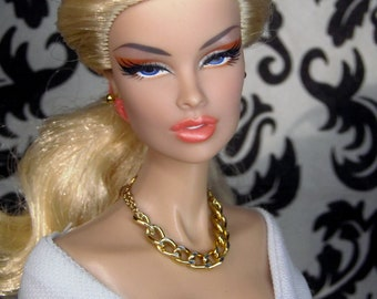 Dolls jewelry for Barbie, Fashion royalty - necklace, earrings and ring