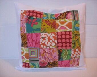 Mulit-Colour Patchwork Pillow Cover