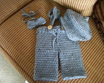Baby Newsboy Outfit