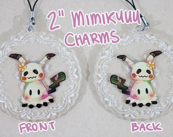 "2"" Acrylic Mimikyuu Charms"