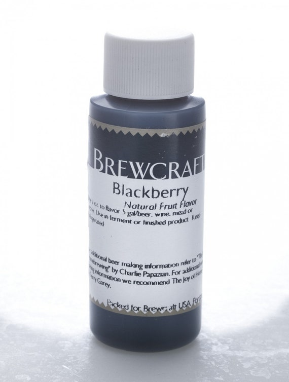 Blackberry Natural Flavoring For  Home Wine Making Beer Making 2 Ounces
