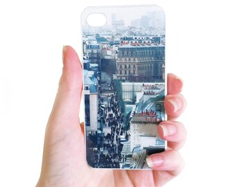 CLEARANCE Sale: iPhone 4 Case. Paris Rooftops. Unique Accessory for iPhone 4 / 4s. Shabby Vintage inspire case, French Style, Paris iphone 4