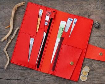 Leather Wallet Clutch, Leather Wallet, Women Wallet, Women Clutch, Gifts For Women