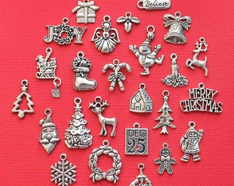 Christmas Charm Collection Ultimate Holiday Collection 25 Different Charms - COL114