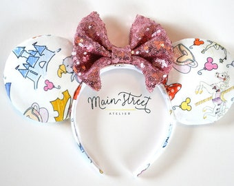 Favorite Things Mouse Ears with Custom Bow