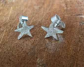 Wonky Star Stud Earrings