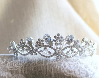 Crystal bridal headband - tiara wedding - wedding rhinestone headbands - crystal headpiece - headband rhinestone - headpiece wedding - crown