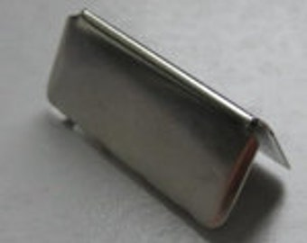 "1.25""  Belt Tip - 25 Pieces"