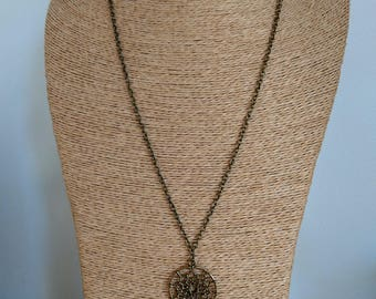 Escape into dreams necklace / dream catcher
