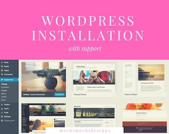 WordPress Installation - WordPress Website Setup, Wordpress.org setup, Professional WordPress Setup with free support