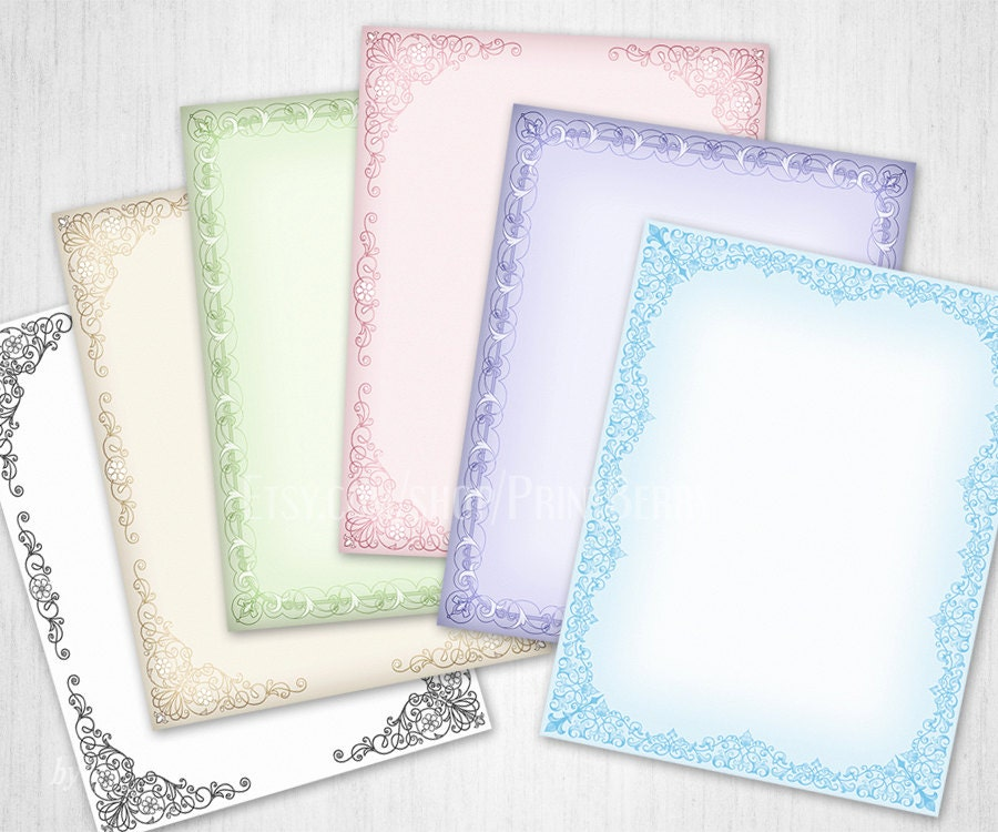 Stationery letter writing paper