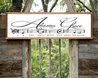 Amazing Grace Sheet Music SVG